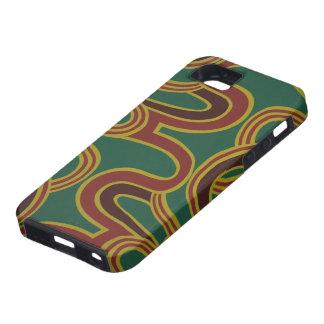 El entrelazamiento curva el papel pintado, 1966-19 iPhone 5 Case-Mate protectores