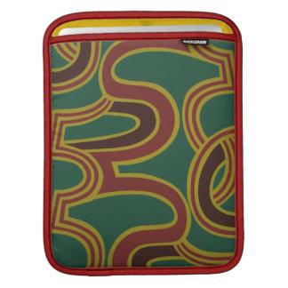 El entrelazamiento curva el papel pintado, 1966-19 funda para iPads