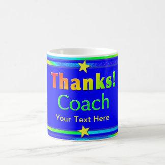 El entrenador de béisbol le agradece asaltar taza de café