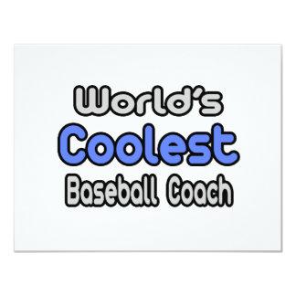 El entrenador de béisbol más fresco del mundo comunicado personalizado