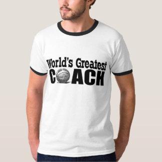 El entrenador de béisbol más grande del mundo poleras