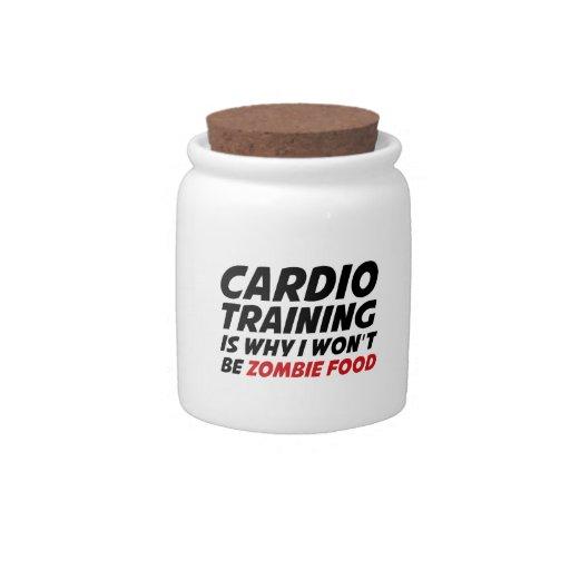 El entrenamiento cardiio es porqué no seré comida  jarras para caramelos