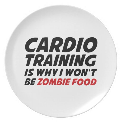 El entrenamiento cardiio es porqué no seré comida  plato