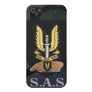 El entrenamiento del SAS del servicio aéreo especi iPhone 5 Fundas