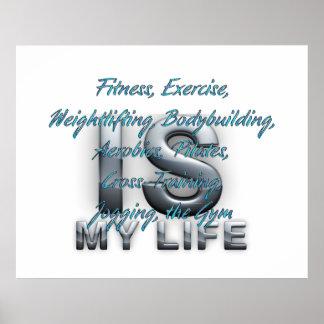 El entrenamiento SUPERIOR es mi vida Posters