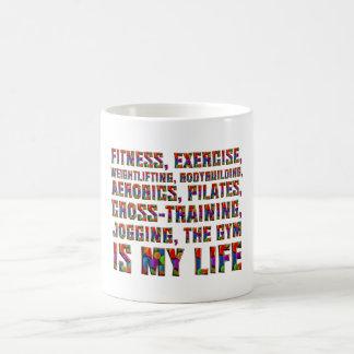 El entrenamiento SUPERIOR es mi vida Taza De Café