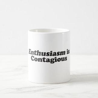 El entusiasmo es contagioso - Mult_Products Taza De Café