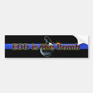 El EOD es la bomba Pegatina De Parachoque