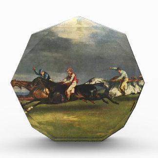 El Epsom Derby de Theodore Gericault