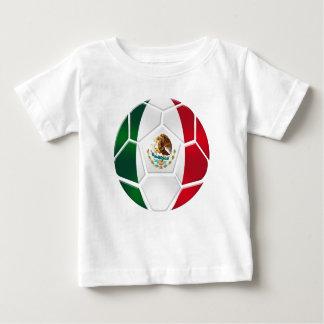 El equipo de fútbol nacional mexicano aviva los remera