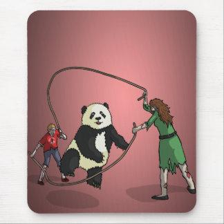 El equipo de la comba de la Zombi-Panda, Tapete De Ratón