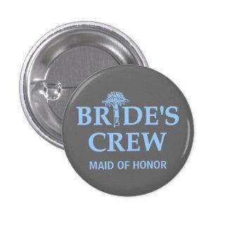 El equipo de la novia del ramo pin