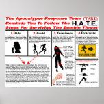 El equipo de la respuesta de la apocalipsis posters