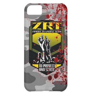 El equipo de la respuesta del zombi guarda calma y carcasa para iPhone 5C