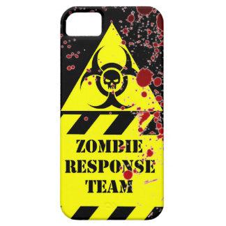 El equipo de la respuesta del zombi guarda calma y funda para iPhone SE/5/5s