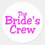 El equipo de las novias (rosa) etiqueta