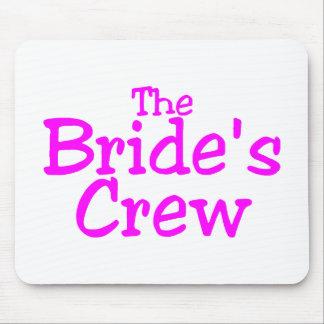 El equipo de las novias (rosa) tapete de raton