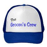 El equipo de los novios (azul y negro) gorras de camionero