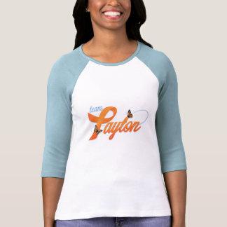 El equipo de mujeres Payton 3/4 camiseta de la Playera