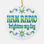 El equipo de radio-aficionado aclara ornamentos de reyes