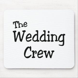 El equipo del boda alfombrilla de ratón
