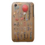 El equipo del escalador -- Engranaje de la escalad Case-Mate iPhone 3 Protectores