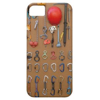 El equipo del escalador -- Engranaje de la Funda Para iPhone SE/5/5s