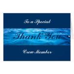 El equipo le agradece las tarjetas - personalizabl