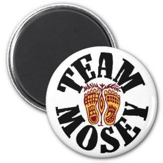 El equipo magnético Mosey Iman De Frigorífico