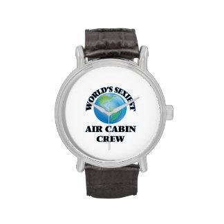 El equipo más atractivo de la cabina del aire del relojes de pulsera
