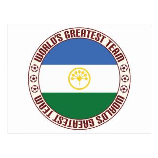 El equipo más grande de Bashkortostan Tarjetas Postales