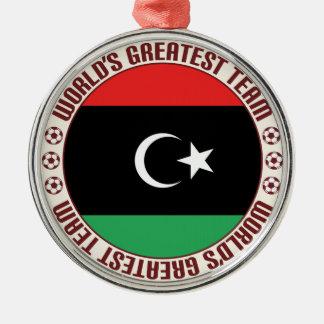 El equipo más grande de Libia Adorno Navideño Redondo De Metal