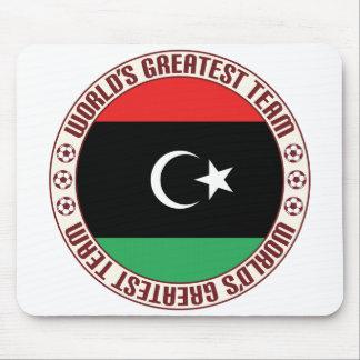 El equipo más grande de Libia Alfombrillas De Ratón