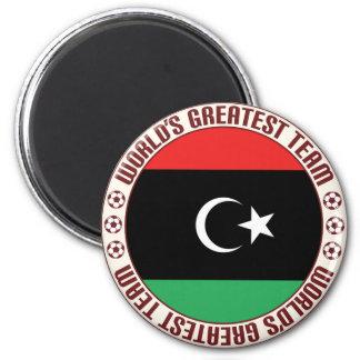 El equipo más grande de Libia Imán Redondo 5 Cm