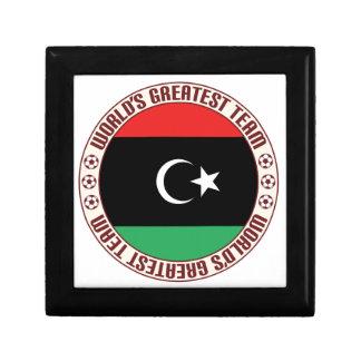 El equipo más grande de Libia Joyero Cuadrado Pequeño