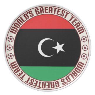 El equipo más grande de Libia Plato De Comida