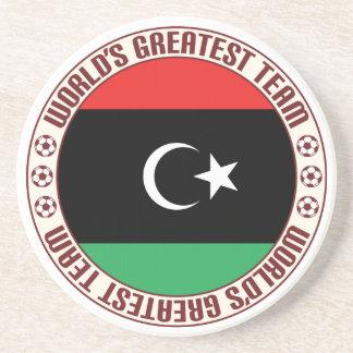 El equipo más grande de Libia Posavasos Para Bebidas