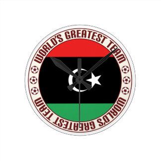 El equipo más grande de Libia Reloj Redondo Mediano