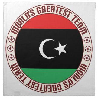 El equipo más grande de Libia Servilleta De Papel