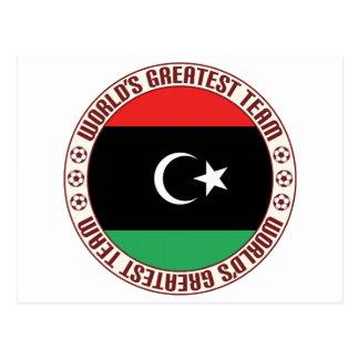 El equipo más grande de Libia Tarjeta Postal