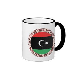 El equipo más grande de Libia Taza De Dos Colores