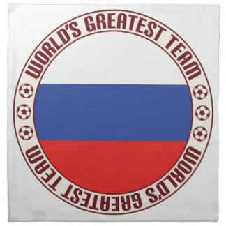 El equipo más grande de Rusia Servilletas De Papel