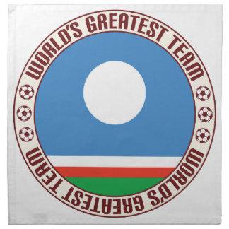 El equipo más grande de Sakha Servilletas