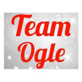 El equipo Ogle Tarjetas Postales