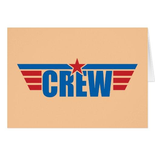 El equipo se va volando la insignia - aviación felicitaciones