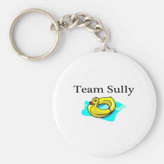 El equipo Sully (el pato) Llavero