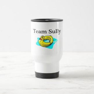 El equipo Sully (el pato) Taza De Viaje De Acero Inoxidable
