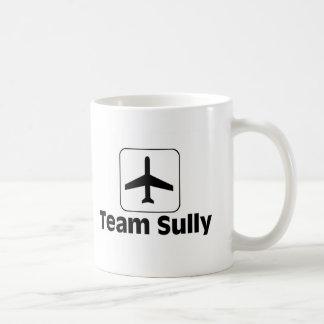 El equipo Sully Taza Básica Blanca