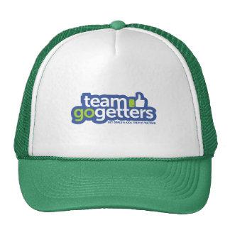 El equipo va gorra del camionero de los compradore