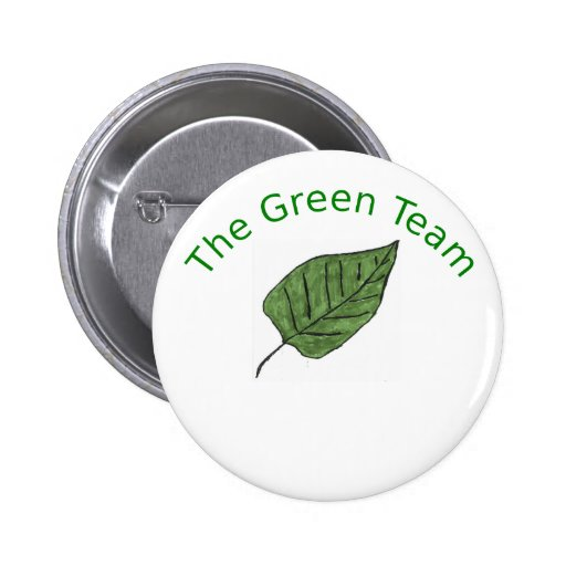 El equipo verde pins